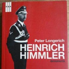 Militaria: HEINRICH HIMMLER. SS. TERCER REICH.HITLER. SEGUNDA GUERRA MUNDIAL. IMPRESCINDIBLE.. Lote 149690542