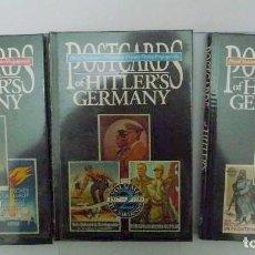 Militaria: POSTCARDS OF HITLERS GERMANY 3 VOLUMENES JAMES BENDER... POSTALES ALEMANAS...NSDAP...NAZI.... Lote 149787358