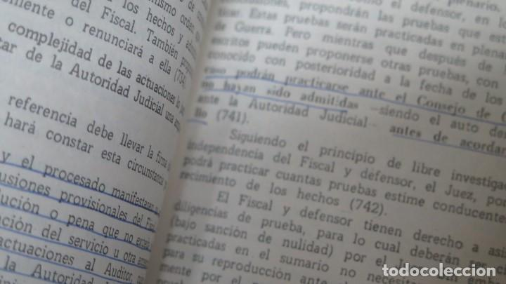 Militaria: APUNTES DE DERECHO PENAL MILITAR. ACADEMIA GENERAL MILITAR - Foto 3 - 149887410