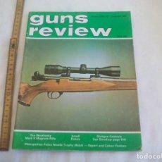 Militaria: GUNS REVIEW VOLUME 23 NO. 12 1983. REVISTA DEL REINO UNIDO, DE ARMAS, PISTOLAS, RIFLES.... Lote 149976466