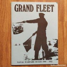 Militaria: WARGAMES - GRAND FLEET - NAVAL WARFARE RULES 1905-1922 - GUERRA NAVAL PRIMERA GUERRA MUNDIAL. Lote 150135370