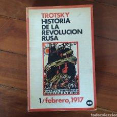 Militaria: REVOLUCION RUSA - HISTORIA DE LA REVOLUCIÓN RUSA: 1/FEBRERO,1917 - COMUNISMO LENIN LEON TROTSKI. Lote 150270406