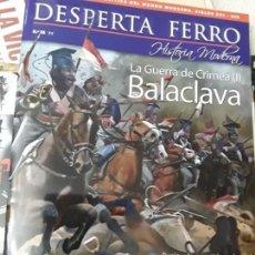 Militaria: DESPERTA FERRO HISTORIA MODERNA Nº38. LA GUERRA DE CRIMEA. BALACLAVA. Lote 171196857