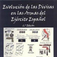 Militaria: EVOLUCIÓN DE LAS DIVISAS EN LAS ARMAS DEL EJÉRCITO ESPAÑOL MILICIA INFANTERÍA CABALLERÍA ARTILLERÍA. Lote 187184175