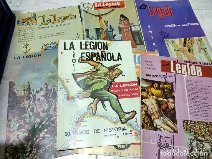 7 ANTIGUAS REVISTAS DE LA LEGION AÑO 70,ARTICULOS DE EL SAHARA Y CIENTOS DE FOTOGRAFIAS DE ESA EPOCA (Militar - Libros y Literatura Militar)