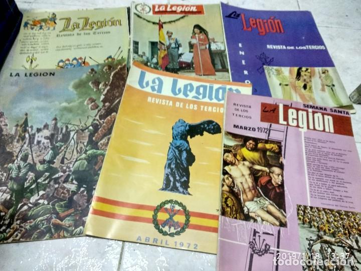 Militaria: 7 ANTIGUAS REVISTAS DE LA LEGION AÑO 70,ARTICULOS DE EL SAHARA Y CIENTOS DE FOTOGRAFIAS DE ESA EPOCA - Foto 2 - 150849194