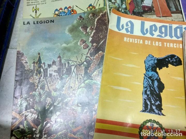 Militaria: 7 ANTIGUAS REVISTAS DE LA LEGION AÑO 70,ARTICULOS DE EL SAHARA Y CIENTOS DE FOTOGRAFIAS DE ESA EPOCA - Foto 3 - 150849194