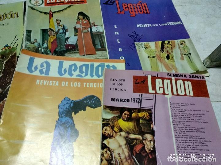 Militaria: 7 ANTIGUAS REVISTAS DE LA LEGION AÑO 70,ARTICULOS DE EL SAHARA Y CIENTOS DE FOTOGRAFIAS DE ESA EPOCA - Foto 4 - 150849194