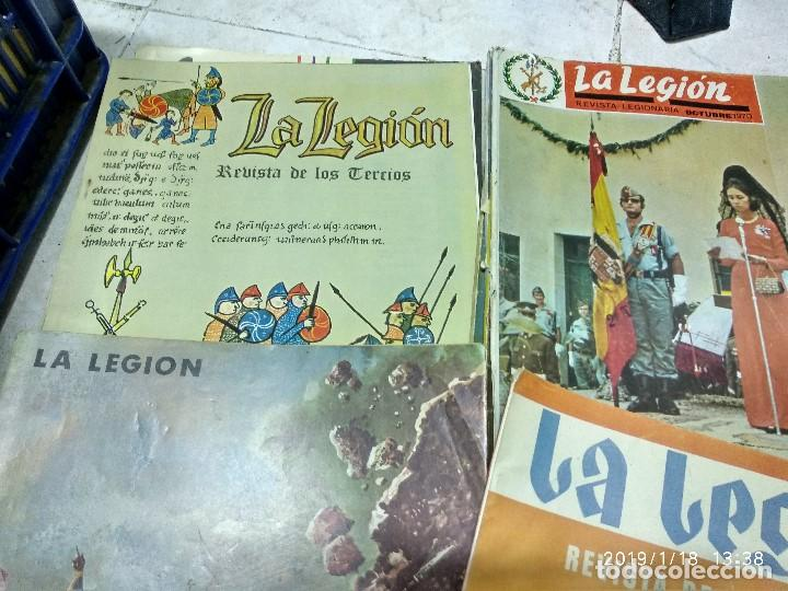 Militaria: 7 ANTIGUAS REVISTAS DE LA LEGION AÑO 70,ARTICULOS DE EL SAHARA Y CIENTOS DE FOTOGRAFIAS DE ESA EPOCA - Foto 5 - 150849194
