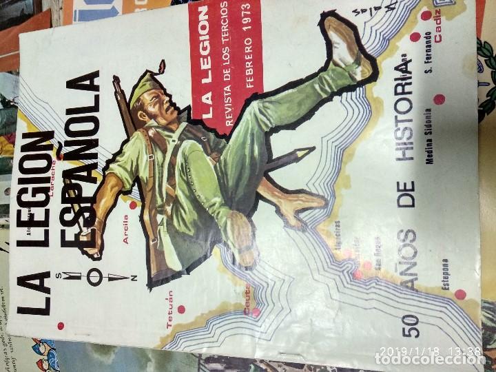 Militaria: 7 ANTIGUAS REVISTAS DE LA LEGION AÑO 70,ARTICULOS DE EL SAHARA Y CIENTOS DE FOTOGRAFIAS DE ESA EPOCA - Foto 6 - 150849194