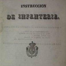 Militaria: 1837 INSTRUCCION DE INFANTERIA. RECOPILACIÓN DE PENAS MILITARES. Lote 114387227