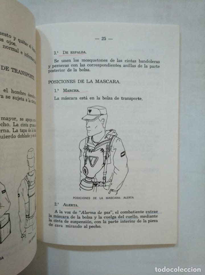 Militaria: MANUAL DE PROTECCION INDIVIDUAL NBQ. ESTADO MAYOR DEL EJERCITO. 1986. TDK366 - Foto 2 - 151382786