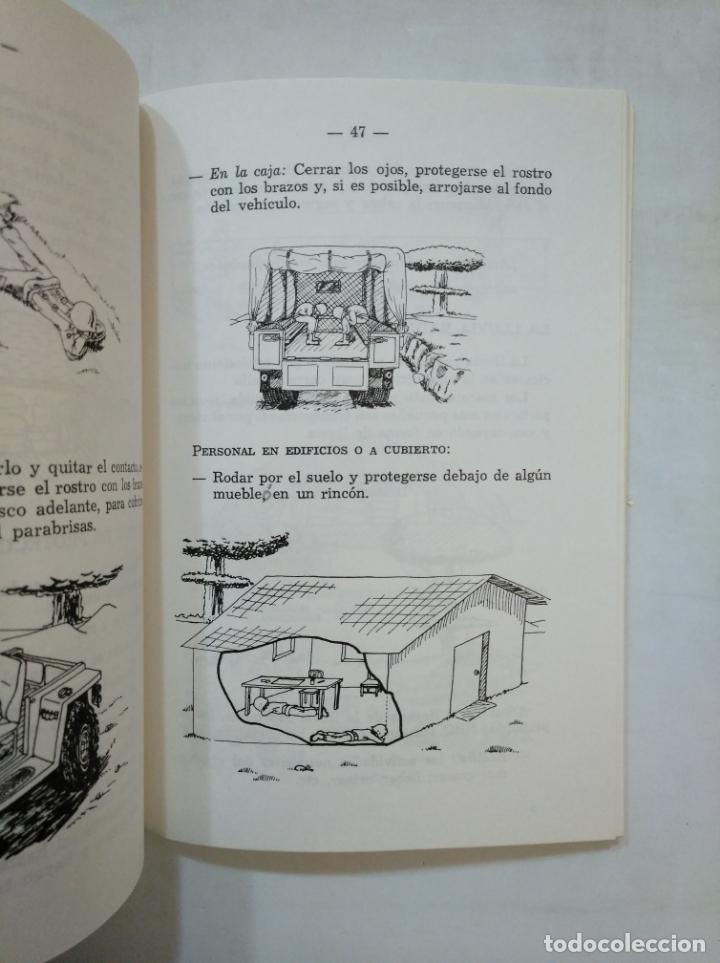Militaria: MANUAL DE PROTECCION INDIVIDUAL NBQ. ESTADO MAYOR DEL EJERCITO. 1986. TDK366 - Foto 3 - 151382786