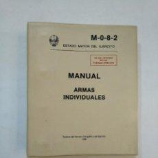 Militaria: MANUAL ARMAS INDIVIDUALES. ESTADO MAYOR DEL EJERCITO. M082. SERVICIO GEOGRAFICO EJERCITO 1986 TDK366. Lote 151383158