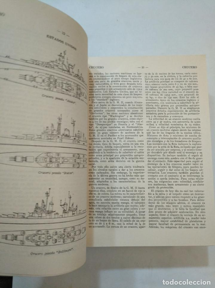 Militaria: DICCIONARIO ENCICLOPEDICO DE LA GUERRA. TOMO VOLUMEN Nº 5. V. EDITORIAL GESTA. G. LOPEZ MUÑIZ TDK366 - Foto 6 - 151383750