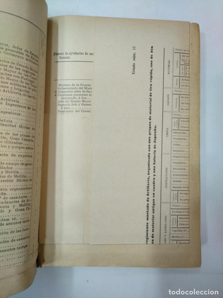 Militaria: COLECCION LEGISLATIVA DEL EJERCITO. AÑO 1911. MINISTERIO DE LA GUERRA. MADRID. TDK366 - Foto 2 - 151389598