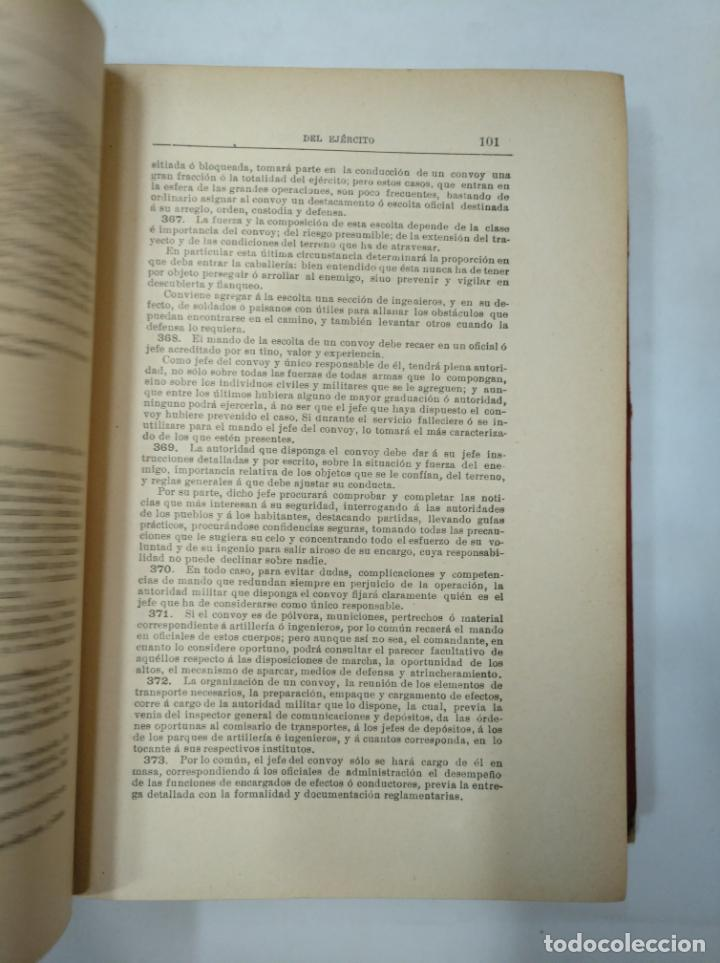 Militaria: COLECCION LEGISLATIVA DEL EJERCITO. AÑO 1882. MINISTERIO DE LA GUERRA. MADRID. TDK366 - Foto 3 - 151390062