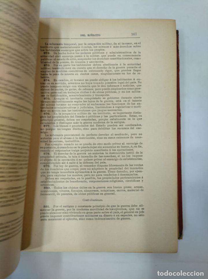 Militaria: COLECCION LEGISLATIVA DEL EJERCITO. AÑO 1882. MINISTERIO DE LA GUERRA. MADRID. TDK366 - Foto 4 - 151390062