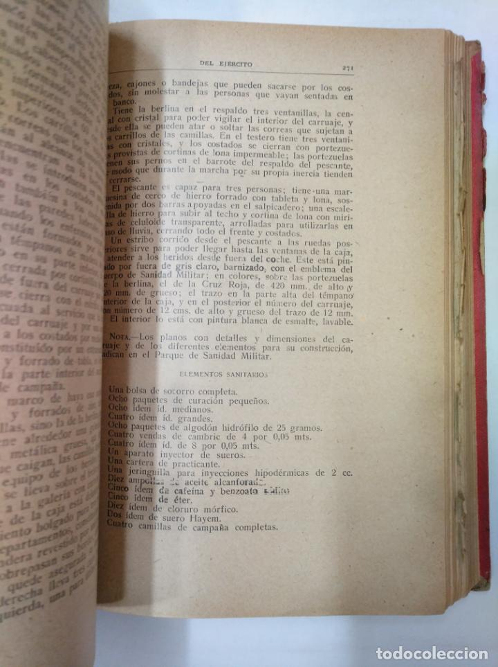 Militaria: COLECCION LEGISLATIVA DEL EJERCITO. AÑO 1918. MINISTERIO DE LA GUERRA. MADRID. TDK366 - Foto 2 - 151390246