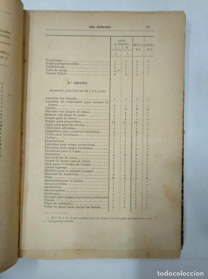 Militaria: COLECCION LEGISLATIVA DEL EJERCITO. AÑO 1896. MINISTERIO DE LA GUERRA. MADRID. TDK366 - Foto 4 - 151390398
