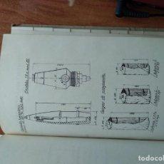 Militaria: TABLAS DE TIRO 105/28 1944. Lote 151600034