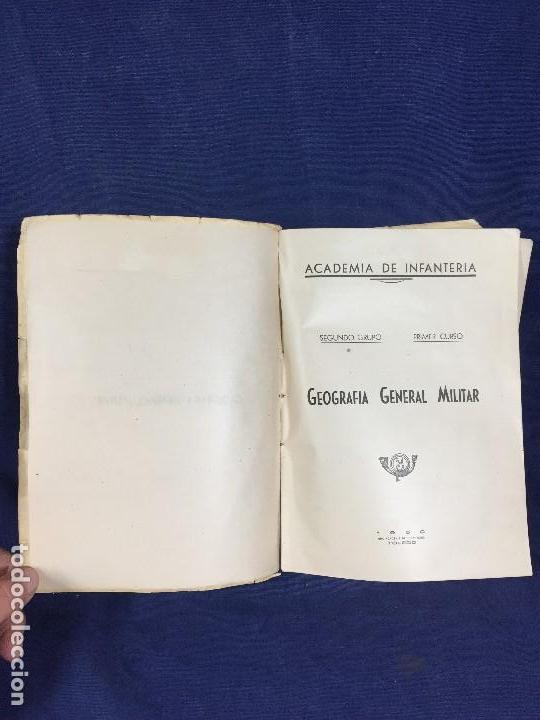 Militaria: geografía general militar academia de infantería toledo primer curso 1950 - Foto 8 - 152157490