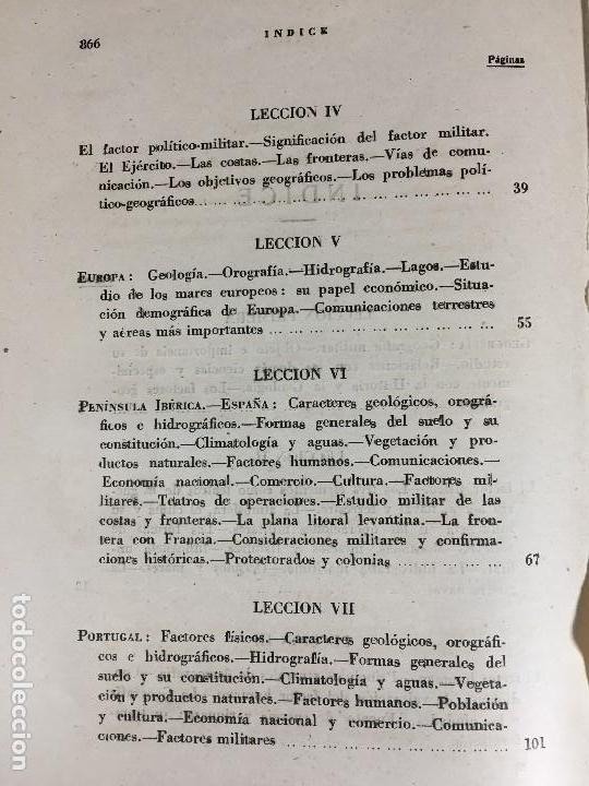 Militaria: geografía general militar academia de infantería toledo primer curso 1950 - Foto 13 - 152157490