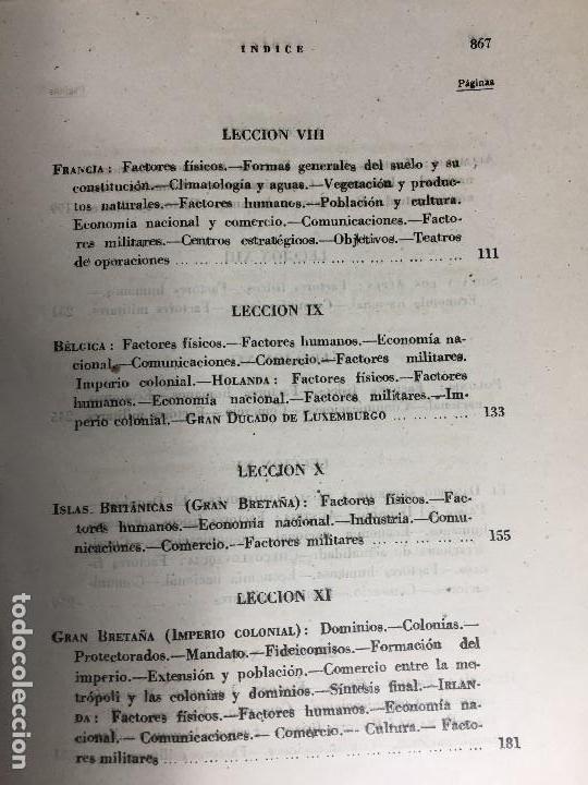 Militaria: geografía general militar academia de infantería toledo primer curso 1950 - Foto 14 - 152157490