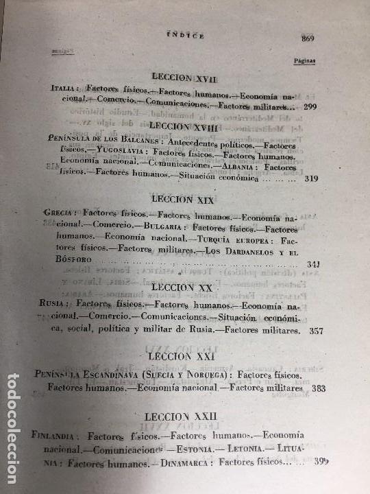 Militaria: geografía general militar academia de infantería toledo primer curso 1950 - Foto 16 - 152157490