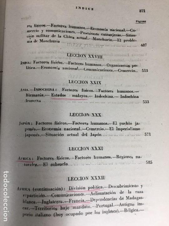 Militaria: geografía general militar academia de infantería toledo primer curso 1950 - Foto 18 - 152157490