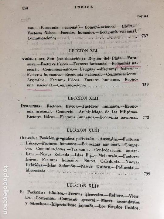 Militaria: geografía general militar academia de infantería toledo primer curso 1950 - Foto 21 - 152157490
