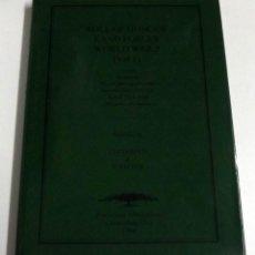 Militaria: ROLL OF HONOUR LAND FORCES WORLD WAR 2, VOL. 1, J DVEREUX & G SACKER, 1999. Lote 152317398