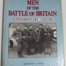 Militaria: MEN OF THE BATTLE OF BRITAIN, KENNEDTH G WINN. Lote 152320410
