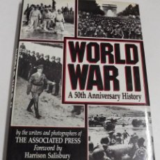 Militaria: WORLD WAR II, A 50TH ANNIVERSARY HISTORY, HARRISON SALISBURY. Lote 152326222