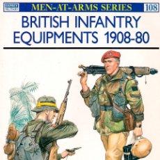 Militaria: EQUIPAMIENTO DE INFANTERÍA - EJÉRCITO BRITÁNICO 1908-80. Lote 152747402