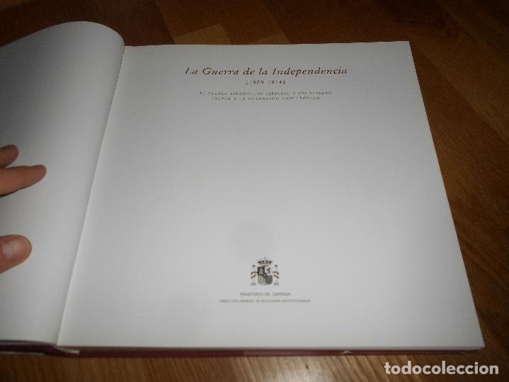 Militaria: LA GUERRA DE LA INDEPENDENCIA 1808-1814 PUEBLO ESPAÑOL EJÉRCITO ETC PERFECTO MINISTERIO DEFENSA 2007 - Foto 2 - 152790262
