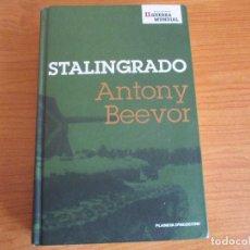 Militaria: LIBRO STALINGRADO (PLANETA AGOSTINI), ANTONY BEEVOR. Lote 152791670