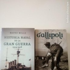 Militaria: GALLIPOLI - HISTORIA NAVAL DE LA GRAN GUERRA 1914-1918. Lote 282544563