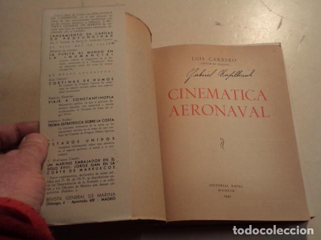 Militaria: CINEMÁTICA AERONAVAL - LUIS CARRERO BLANCO - AÑO 1941 - Foto 2 - 153227282