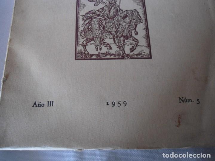 Militaria: LIBRO DE REVISTA DE HISTORIA MILITAR AÑO III 1959 Nº 5 - Foto 2 - 153384098
