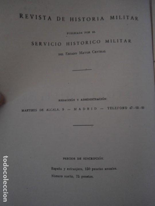 Militaria: LIBRO DE REVISTA DE HISTORIA MILITAR AÑO III 1959 Nº 5 - Foto 7 - 153384098