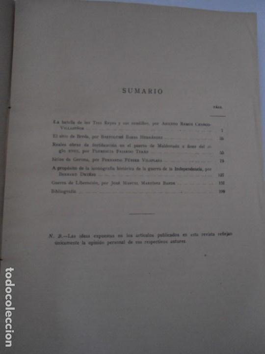 Militaria: LIBRO DE REVISTA DE HISTORIA MILITAR AÑO III 1959 Nº 5 - Foto 9 - 153384098