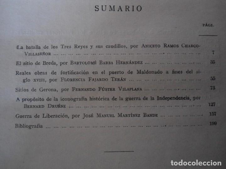Militaria: LIBRO DE REVISTA DE HISTORIA MILITAR AÑO III 1959 Nº 5 - Foto 10 - 153384098