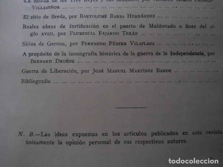 Militaria: LIBRO DE REVISTA DE HISTORIA MILITAR AÑO III 1959 Nº 5 - Foto 11 - 153384098