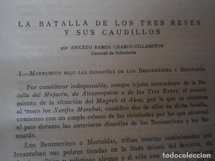 Militaria: LIBRO DE REVISTA DE HISTORIA MILITAR AÑO III 1959 Nº 5 - Foto 14 - 153384098