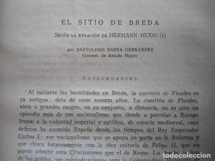 Militaria: LIBRO DE REVISTA DE HISTORIA MILITAR AÑO III 1959 Nº 5 - Foto 19 - 153384098