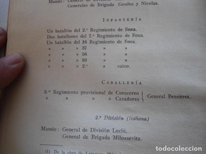 Militaria: LIBRO DE REVISTA DE HISTORIA MILITAR AÑO III 1959 Nº 5 - Foto 57 - 153384098