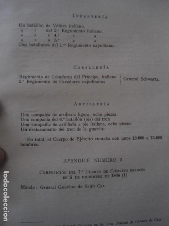 Militaria: LIBRO DE REVISTA DE HISTORIA MILITAR AÑO III 1959 Nº 5 - Foto 62 - 153384098