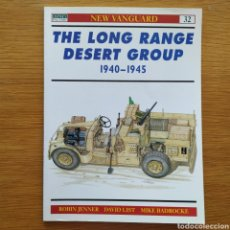 Militaria: WW2 - OSPREY - THE LONG RANGE DESERT GROUP 1940-1945 - NEW VANGUARD. Lote 153552202