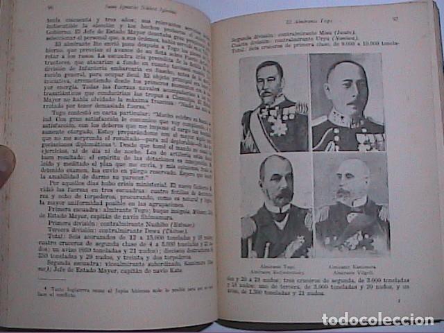 Militaria: EL ALMIRANTE TOGO. HÉROE NAVAL JAPONES. FINALES XIX PRINCIPIOS XX.ED. NAVAL 1942. MADRID. - Foto 3 - 153567738